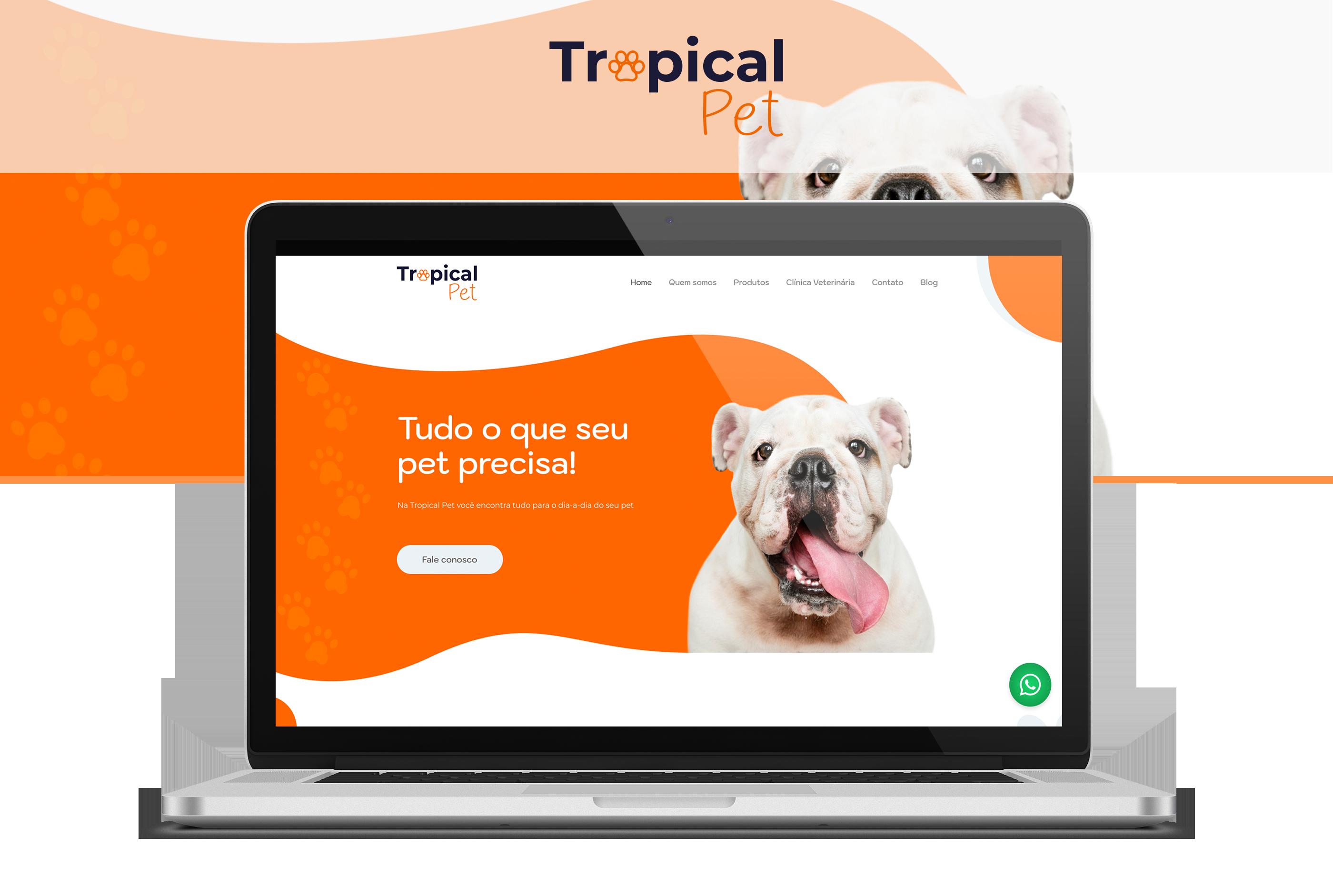 Projeto Tropical Pet - Goognet Solução Digital