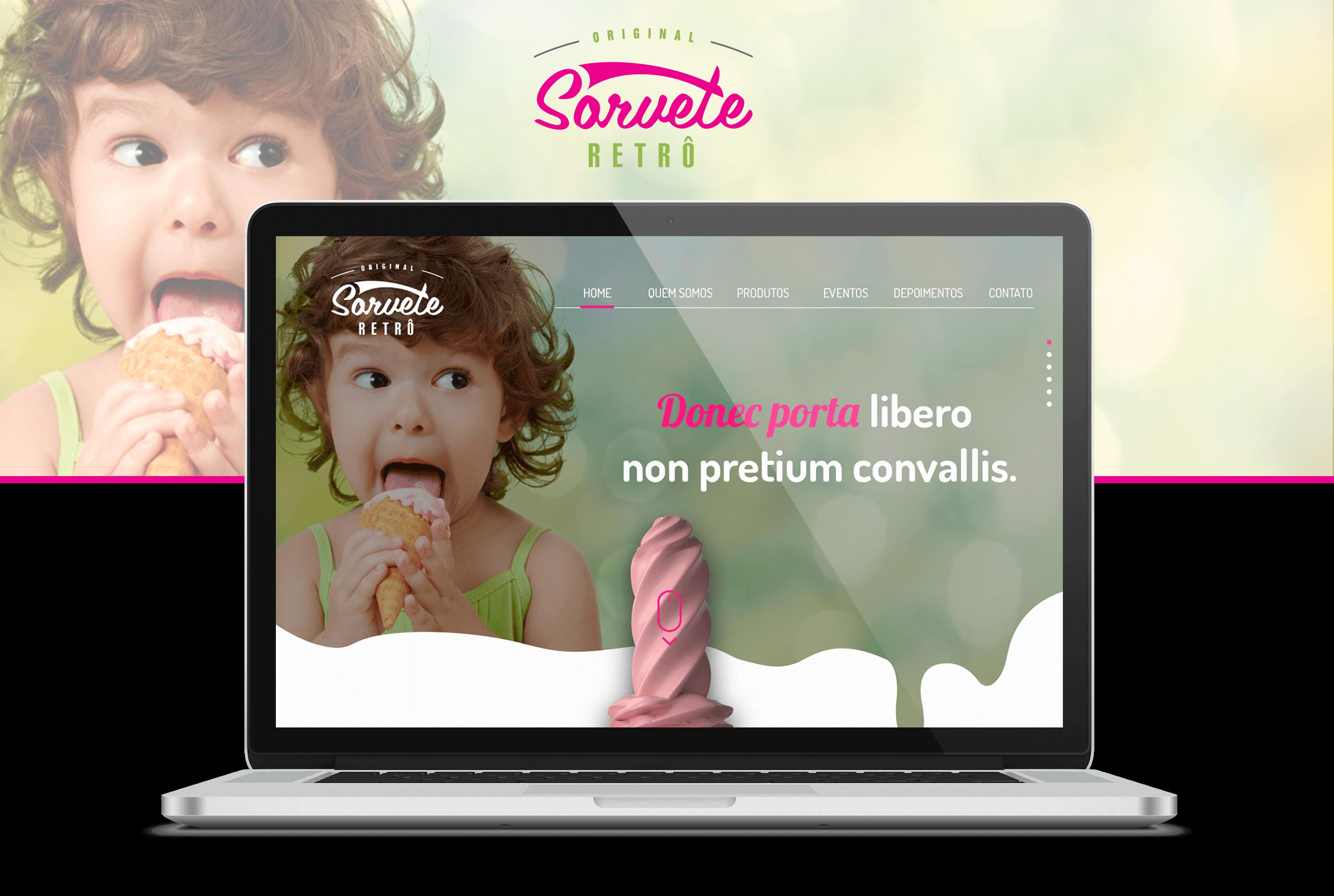 Projeto Sorvete Retrô - Goognet Solução Digital