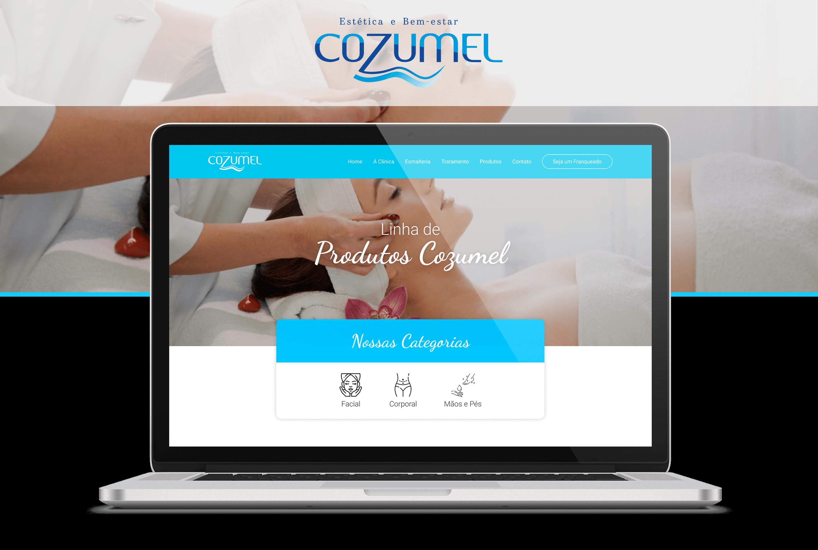 Projeto Cozumel Produtos - Goognet Solução Digital