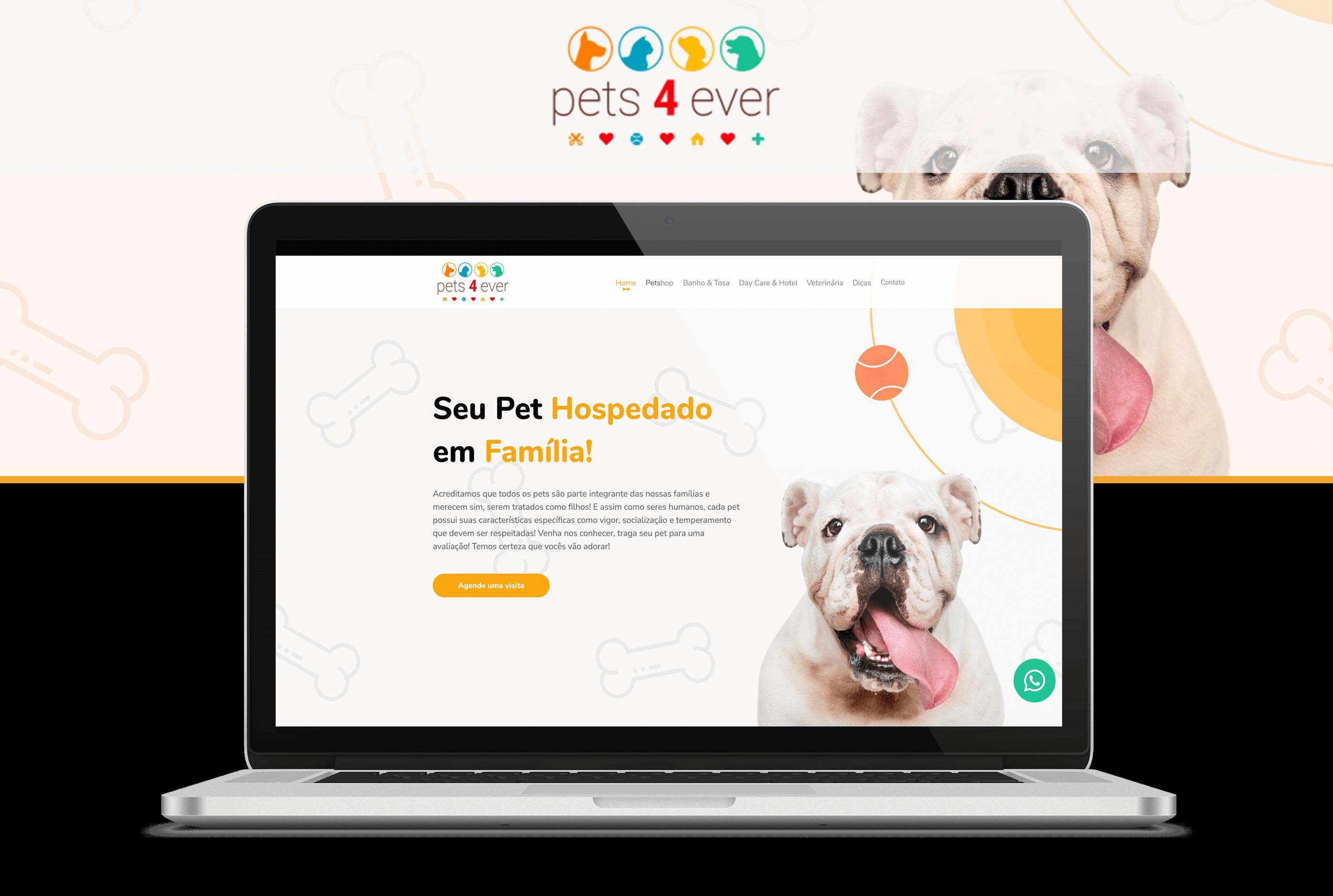 Projeto Pets 4Ever - Goognet Solução Digital