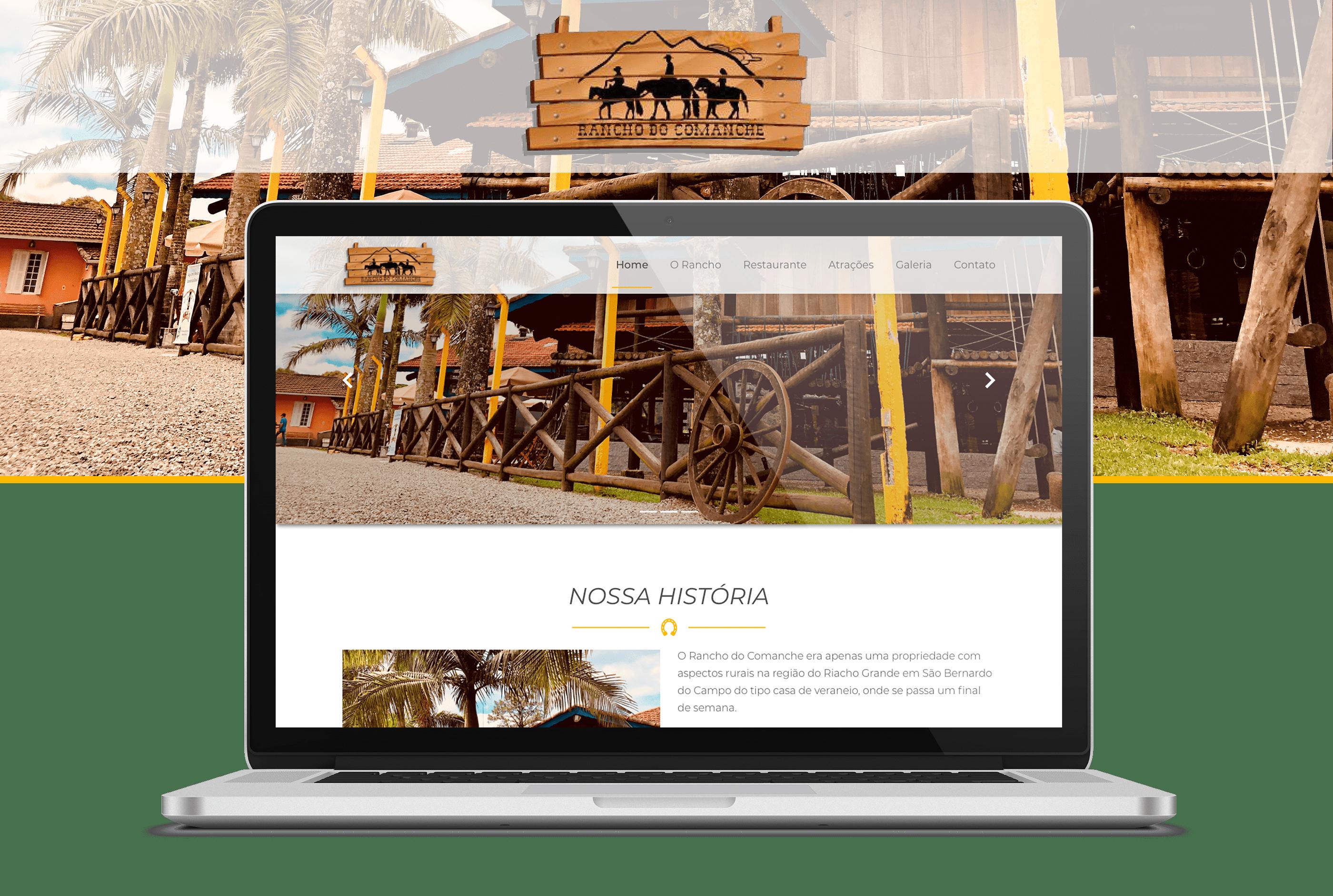 Projeto Rancho do Comanche - Goognet Solução Digital