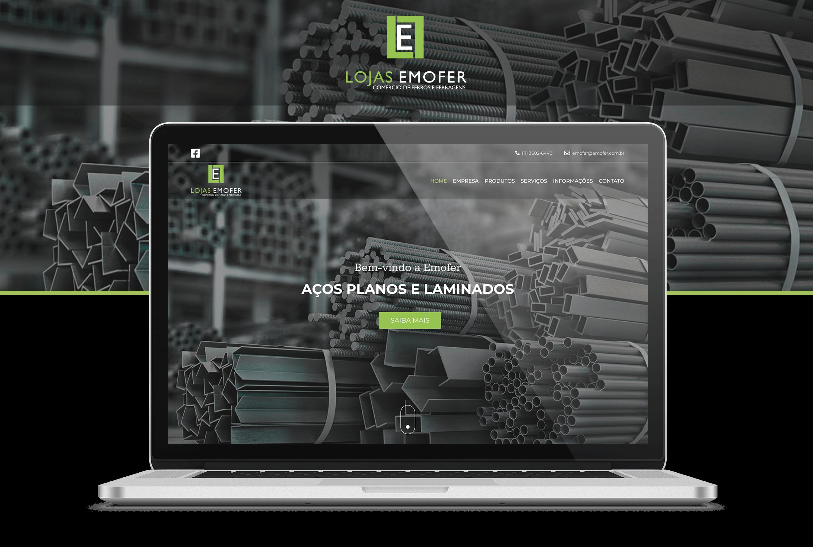 Projeto Lojas Emofer - Goognet Solução Digital